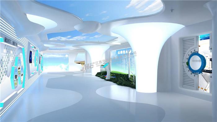 企业展厅设计效果图高清图片