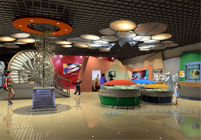 科技馆展览展示设计围绕主题形成整体设计体系