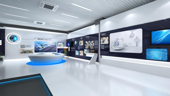 互动多媒体技术在展厅设计中的应用图片