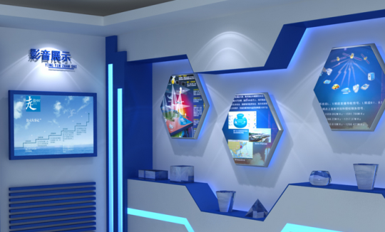 什么是企业展厅形象墙?