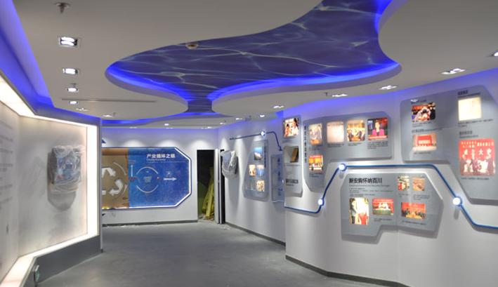 二,展示区设计,将以最直观的企业文化展厅设计将企业形象进行宣传