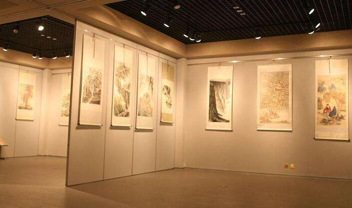 书画展厅设计注意的要素图片