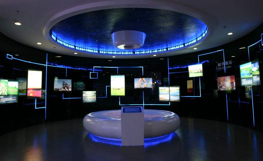 多媒体互动科技馆有哪些内容?图片